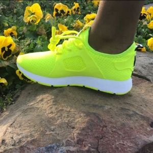 Womens Lime Green shoes.